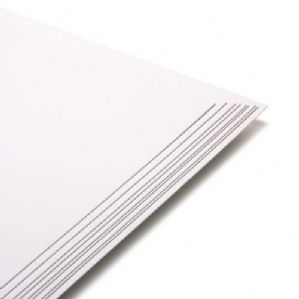 12x12 Card Premium White Medium Print & Craft 180gsm/220mic - 200 Sheets